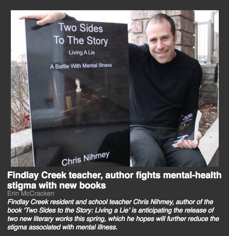 chris nihmey ottawa mental health author