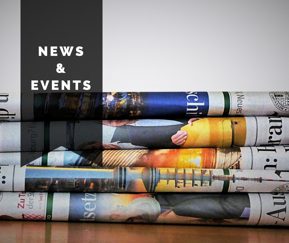 Upcoming Events & News