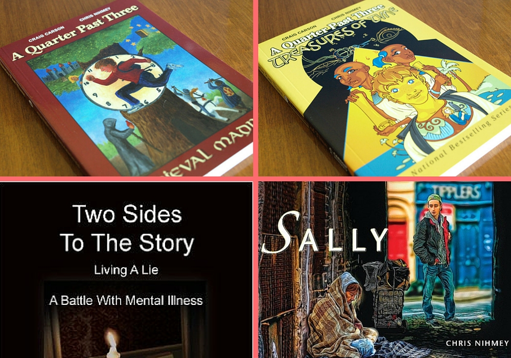 Chris Nihmey Four Books