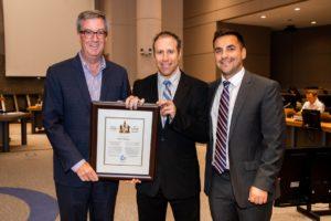 Mayor's Builder Award 2018 Chris Nihmey