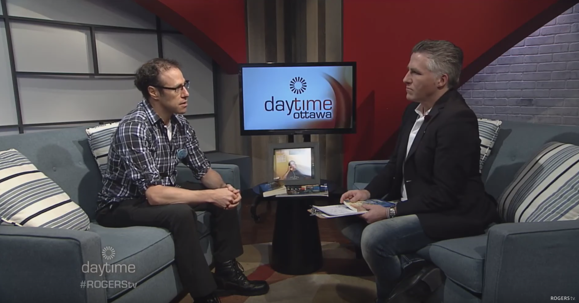 Chris Talks 'Reflections from Another Side' with Rogers Daytime